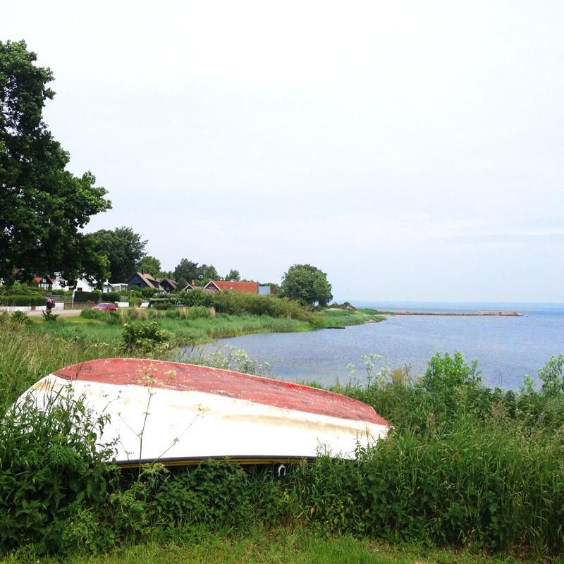 La côte vers Skäret. Chartreuse de Basseville.
