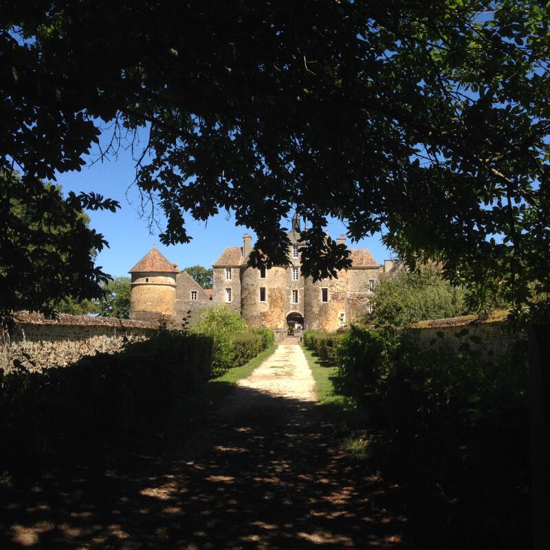 Le chateau de Ratilly dans l'Yonne